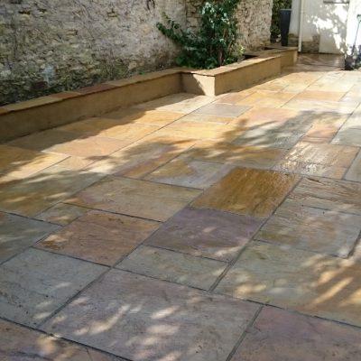 Natural Stone Patio – Haddenham