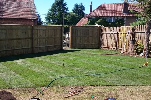 Closeboard Fencing – Kingston Blount